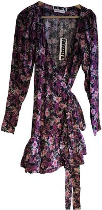 Rotate by Birger Christensen Purple Viscose Dresses