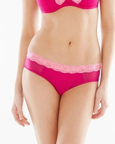 Soma Intimates Brooklyn Hipster Panty Raspberry/Miami