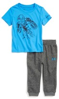 Under Armour Infant Boy's Be Strong Be Fearless T-Shirt & Jogger Pants Set