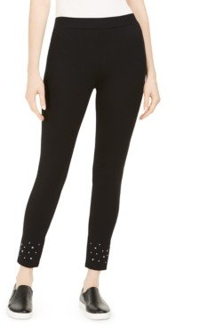 Style&Co. Style & Co Studded-Hem Leggings, Created for Macy's