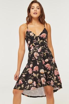 Ardene Floral High-Low Dress