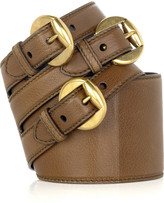 Triple buckle belt