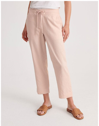 Regatta Linen Blend Straight Leg Pant Pale