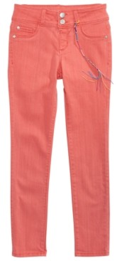 DKNY Big Girls Double-Button Jeans