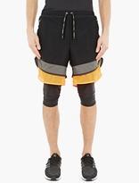 adidas Black Lightweight Layered Woven Shorts