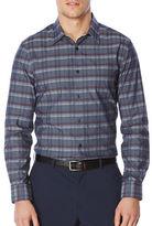 Perry Ellis Regular Fit Plaid Shirt