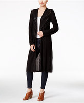 Style&Co. Style & Co. Pointelle-Knit Duster Cardigan, Only at Macy's