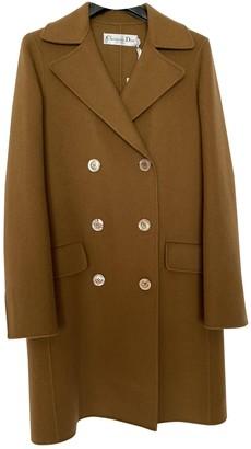 Christian Dior Camel Cashmere Coats