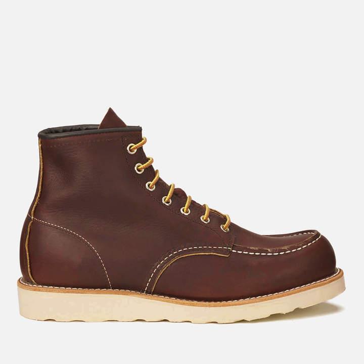 d9724c66a31 Men's 6 Inch Moc Toe Leather Lace Up Boots - Briar Oil Slick