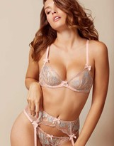 Agent Provocateur Sparkle Bra Nude And Silver