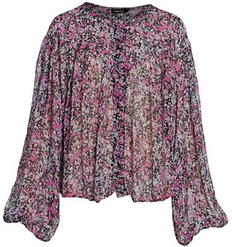 Isabel Marant Orionea Blooming Silk Blouse