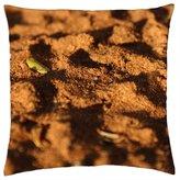 "iRocket - sand shadow - Throw Pillow Cover (24"" x 24"", 60cm x 60cm)"