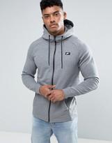 Nike Modern Zip-up Hoodie In Grey 805130-091