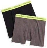 Calvin Klein Boy's 2-Pack Boxer Briefs