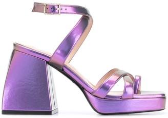 Nodaleto Bulla Siler platform sandals