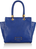 Too Hot To Handle Bentley leather trapeze bag