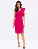 Bardot Ruffle Dress