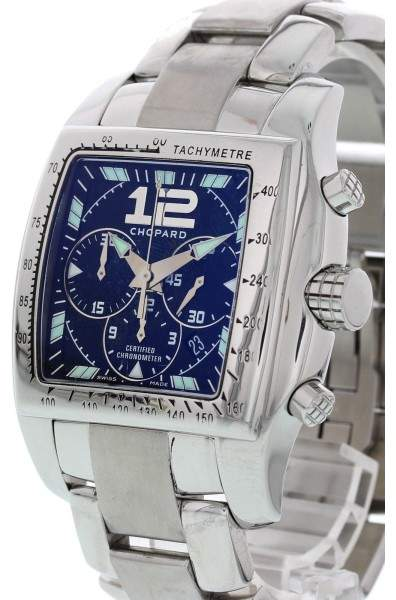 Chopard Tycoon Two O Ten 8961 Chronograph Stainless Steel Automatic 46mm Mens Watch
