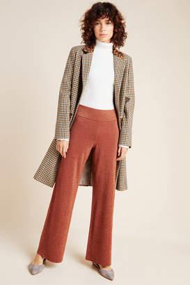 Anthropologie Soho Shimmer Knit Wide-Leg Pants