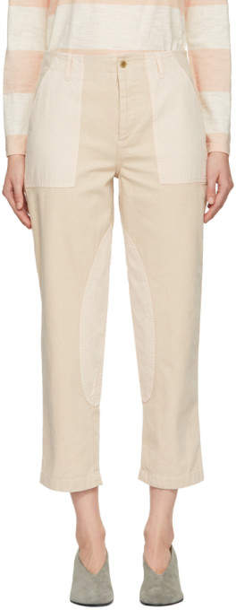 YMC Pink Nam Trousers