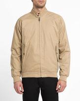 Ben Sherman Beige Buttoned Collar Cotton Jacket
