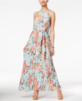 B. Darlin Juniors' Pleated Maxi Dress