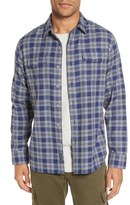 Grayers Lennon Regular Fit Plaid Flannel Sport Shirt