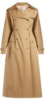 Valentino Rockstud Untitled #1 gabardine trench coat