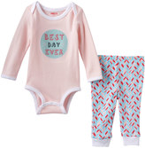 Skip Hop Baby Girl Graphic Bodysuit & Pants Set