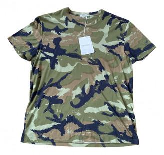 Valentino Green Cotton T-shirts
