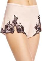 Josie Natori Lace Trim Tap Shorts