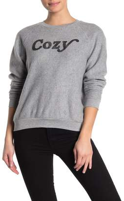 PST by Project Social T Cozy Brushed Knit Sweatshirt
