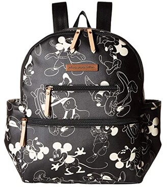 Petunia Pickle Bottom Mickey's 90th Ace Backpack - Disney Collaboration (Grey/Ivory) Diaper Bags