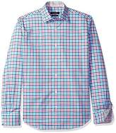 Bugatchi Men's Dudley Long Sleeve Plaid Check Button Down Shirt