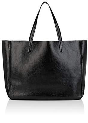 Barneys New York Women's Leather Shopper Tote - Black