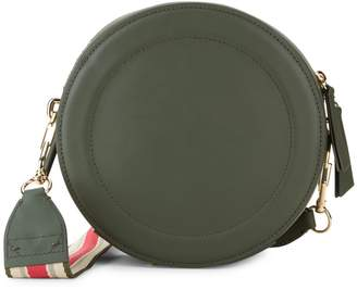 Zac Posen Belay Circle Leather Crossbody Bag