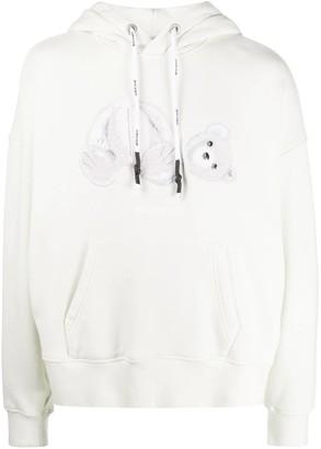 Palm Angels Ice Bear Hooded Sweatshirt