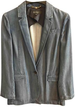 Gucci \N Blue Denim - Jeans Jackets