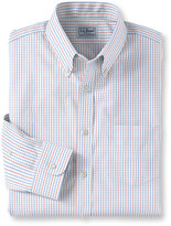 L.L. Bean Wrinkle-Free Pinpoint Oxford Cloth Shirt, Tattersall