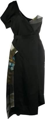 Vivienne Westwood panelled one-shoulder dress