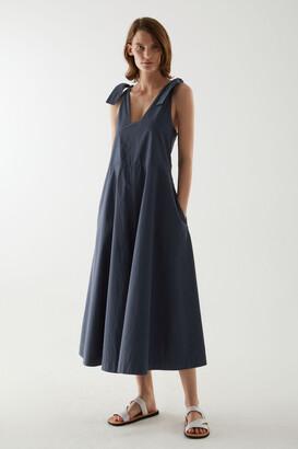Cos Sleeveless Cotton Jumpsuit
