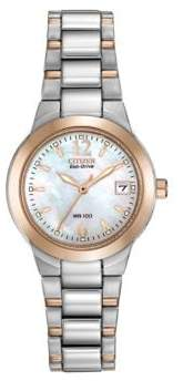 Citizen Ladies Eco-Drive Two-Tone Watch