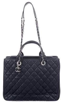 ab0db6264db97e Chanel Blue Tote Bags - ShopStyle