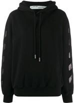 Off-White Off White Diag oversized hoodie