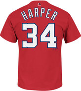 Majestic Men's Bryce Harper Washington Nationals Official Player T-Shirt