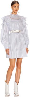 Etoile Isabel Marant Patsy Dress in Light Blue | FWRD