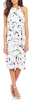 Antonio Melani Drea Printed Georgette Dress