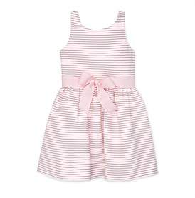 Polo Ralph Lauren Striped Fit-And-Flare Dress (2-4 Years)
