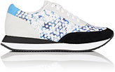 Loeffler Randall WOMEN'S RIO LEATHER & SUEDE SNEAKERS-NUDE, BLUE, WHITE, BLACK SIZE 7