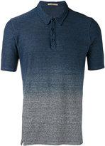 Nuur gradient effect polo shirt